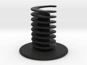 nib pen stand or holder in Black Natural Versatile Plastic