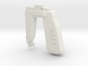 Stun Gun (Space: 1999), 1/6 in White Natural Versatile Plastic
