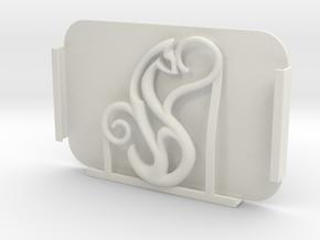 CAT_Protector Spirit_Cadiaan_CARD HOLDER_ 30 Oct  in White Natural Versatile Plastic