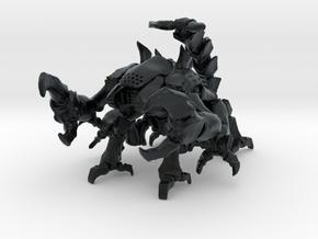 Skorbiont 001 15mm in Black Hi-Def Acrylate