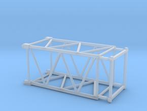 HO/1:87 Crane boom segment short 17x17 in Smooth Fine Detail Plastic