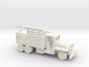 1/200 Scale CCKW Wrecker in White Natural Versatile Plastic