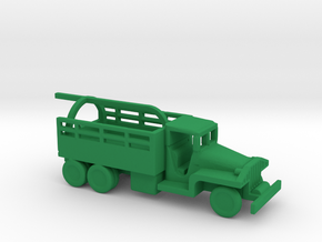 1/200 Scale CCKW Wrecker in Green Strong & Flexible Polished