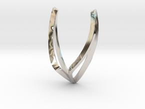 sWINGS Line, Pendant. Pure, Elegant.  in Platinum