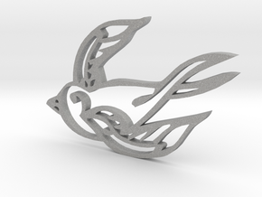 Swallow in Aluminum