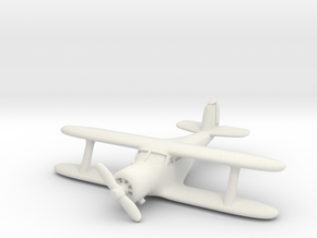 Beech UC-43 Traveler 1/285 6mm in White Strong & Flexible