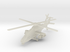1/300 HAL Light Combat Helicopter in Transparent Acrylic
