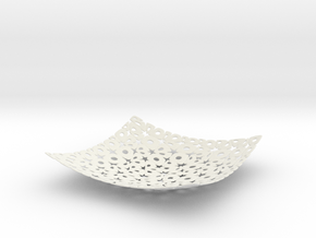 NURBS Cubehole Flat.013 in White Natural Versatile Plastic