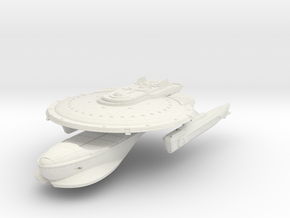Curry Class Refit Cruiser in White Strong & Flexible