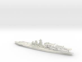 1/1250 IJN BB Yamato[1945] in White Natural Versatile Plastic
