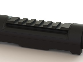 Railed Handguard for AK74u (low profile version) in Black Strong & Flexible