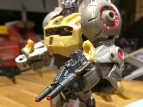 FOC Grimlock Twin Blaster in White Natural Versatile Plastic