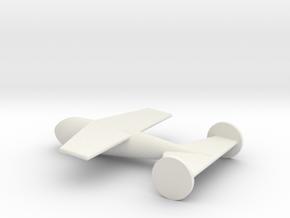1/144 Scale DRAGON Radio-Control Gluide Bomb in White Natural Versatile Plastic