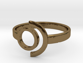 Ring 1 in Polished Bronze