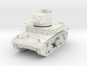 PV47A M2A4 Light Tank (28mm) in White Strong & Flexible