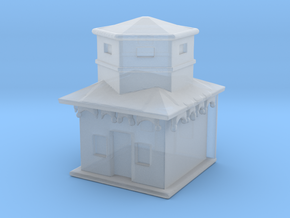 House for Diorama in Smooth Fine Detail Plastic