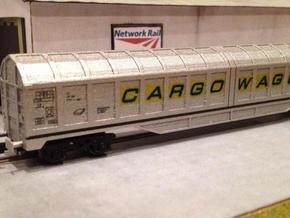 N Gauge IWA Wagon in Smooth Fine Detail Plastic