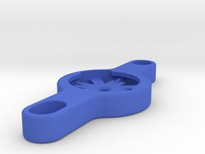 Garmin Varia Waterbottle Boss Mount in Blue Processed Versatile Plastic