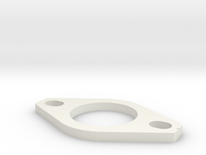 Dellorto FRD 34 Phenolic Spacer in White Natural Versatile Plastic