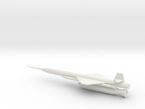 1/144 Scale X-7 Missile in White Strong & Flexible