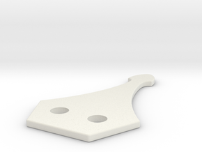 PP1 Collar Buckle Male Connector - Custom Request in White Natural Versatile Plastic