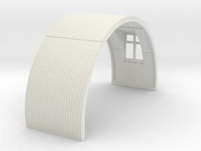 N-87-complete-nissen-hut-mid-16-window-1a in White Natural Versatile Plastic