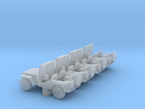 Jeep - Set of 4 - Zscale in Smooth Fine Detail Plastic