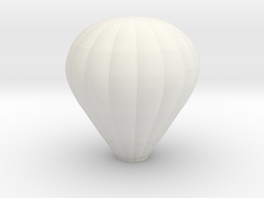 Balloon Wall Sconce in White Natural Versatile Plastic