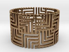 Nexus Ring (Size 7.25-11)  in Natural Brass: 7.25 / 54.625