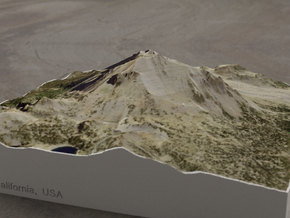 Lassen Peak, California, USA, 1:25000 in Full Color Sandstone