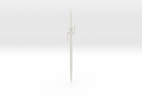 Wind Sword  in White Natural Versatile Plastic