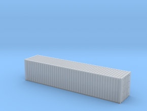 1/72 scale 40 ft Shipping Container ISO in Smooth Fine Detail Plastic: 1:72