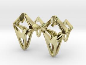 HEAD TO HEAD Prototype, Cufflinks in 18K Gold Plated