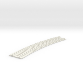 X-165-b2b-long-curved-r2-track-joiner-1a in White Natural Versatile Plastic