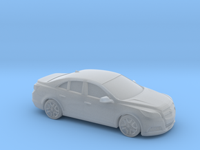 1/43 2013- Present Chevrolet Malibu in Smooth Fine Detail Plastic