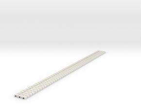 P-9st-flexi-tram-track-100-x48-1a in White Natural Versatile Plastic