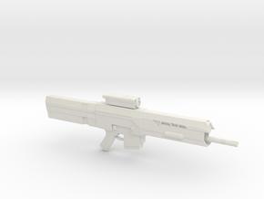 Tech 49 Rifle (Oblivion), 1/6 in White Natural Versatile Plastic