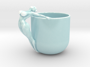 SEXY NAKED CUP IN 12.5CM in Gloss Celadon Green Porcelain