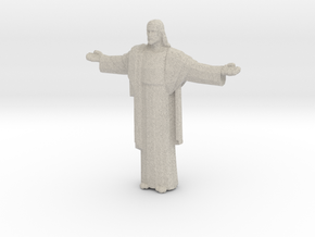 Cristo-redentor Porcelain and Sandstone in Natural Sandstone