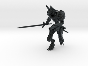 Cyberpunk Mecha, 15mm Scale in Black Hi-Def Acrylate