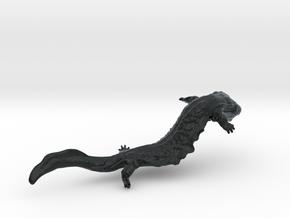 Hellbender in Black Hi-Def Acrylate: Medium