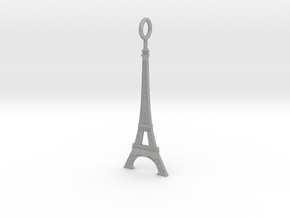 Eiffel Tower Pendant in Aluminum