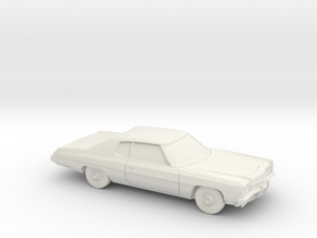 1/87 1972 Chevrolet Impala in White Strong & Flexible