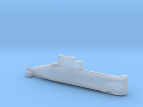 1/700 U-Boot Typ 202 | German Submarine Type 202 in Frosted Extreme Detail