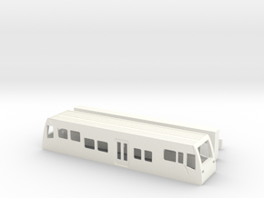 LVT Burgenlandbahn TT 1/120 1-120 1:120  Standmode in White Processed Versatile Plastic: 1:120 - TT