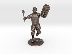 Goblin Miniature in Polished Bronzed Silver Steel: 1:60.96