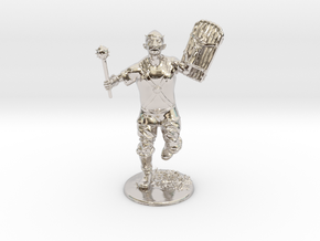 Goblin Miniature in Rhodium Plated Brass: 1:60.96