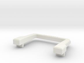 Soft bull bar D90 Gelande 1:18 in White Natural Versatile Plastic