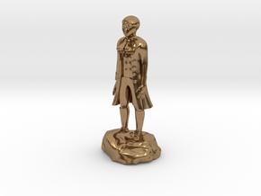 Billy, the demonic kid, in aristocrat attire. in Natural Brass