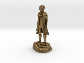 Billy, the demonic kid, in aristocrat attire. in Natural Bronze